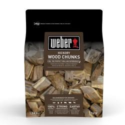 Ξύλα Chunks Hickory Weber