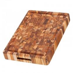 Ξύλο Κοπής & Σερβιρίσματος 40.6 x 30.5 x 5.1 εκ. | TEAKHAUS Butcher Block