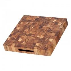 Ξύλο Κοπής & Σερβιρίσματος 30.5 x 30.5 x 5.1 εκ. |TEAKHAUS Butcher Block