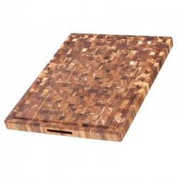 Ξύλο Κοπής & Σερβιρίσματος 61 x 45.7 x 3.9 εκ. |TEAKHAUS Butcher Block