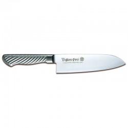 Μαχαίρι Santoku 17 Εκατ. Μονοκόμματο με Ανοξείδωτη Λαβή Tojiro-Pro Dp Cobalt