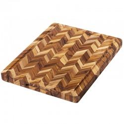 Ξύλο Κοπής & Σερβιρίσματος 50.8 x 40.5 x 3.8 εκ. | TEAKHAUS Butcher Block