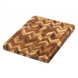 Ξύλο Κοπής & Σερβιρίσματος 40.6 x 30.5 x 3.8 εκ. | TEAKHAUS Butcher Block