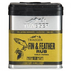 Traeger Fin & Feather Rub 156gr