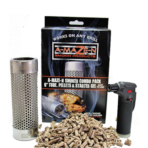 Δοχείο Καπνίσματος A-Maze-N Oval Tube Smoker Combo Set 3τμχ