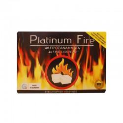 Προσάναμμα (48 τμχ) Platinum Fire
